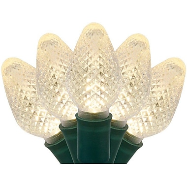 The Holiday Aisle 25 C7 LED Christmas Lights; Warm White