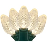 The Holiday Aisle 25 C7 LED Christmas Lights; Warm White