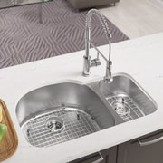 MRDirect Stainless Steel 35'' x 21'' Double Basin Undermount Kitchen Sink