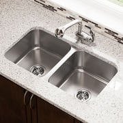 MRDirect Stainless Steel 32'' x 19'' Double Basin Undermount Kitchen Sink