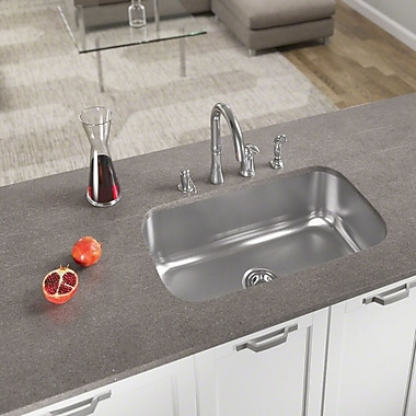 MRDirect 31'' L x 18'' W Undermount Kitchen Sink