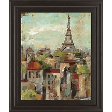 Red Barrel Studio 'Spring in Paris II' Framed Painting Print