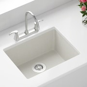 MRDirect Trugranite 22'' x 17'' Undermount Kitchen Sink; White