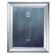Charlton Home Silhouette Matte Silverplated Picture Frame; 8'' x 10''