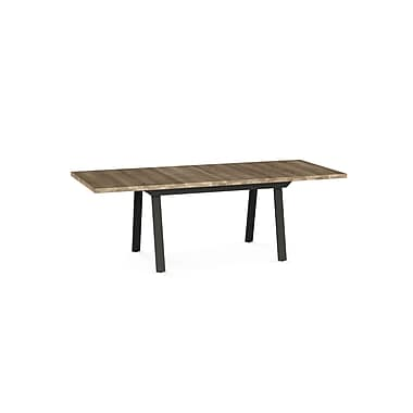 Kane Dark Brown Metal Table