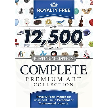 Royalty Free Complete Premium Art Collection, Platinum Edition (Mac) [Download]