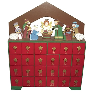 The Holiday Aisle Nativity Advent Calendar