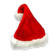 The Holiday Aisle Traditional Plush Adult Santa Hat