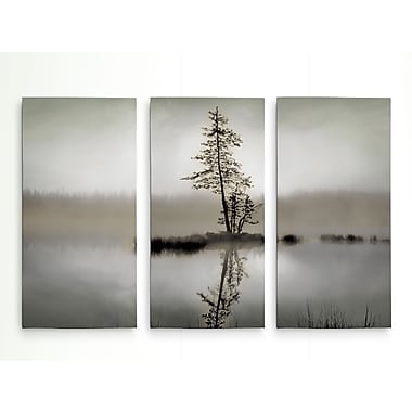 Union Rustic 'Sunrise Reflection' Graphic Art Print Multi-Piece Image on Wrapped Canvas
