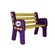 Imperial Wooden Park Bench; Louisiana State University