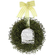 Ophelia & Co. Bird in cage 16'' Wreath