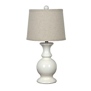 Ophelia & Co. Rashedah 23.5'' Table Lamp; Off White