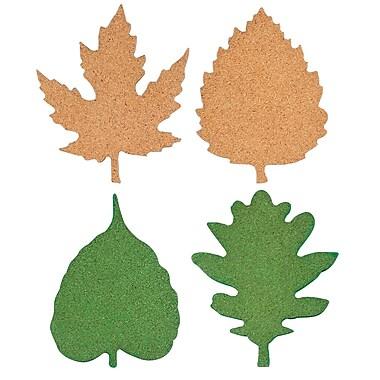 Thirstystone 4 Piece Leaf Assorted Cork Coaster Set