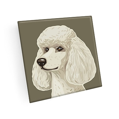 East Urban Home Poodle Coaster (Set of 4)