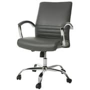 Latitude Run Saylor Office Chair; Gray