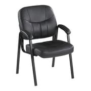 Winston Porter Lashbrook Leather Guest Chair
