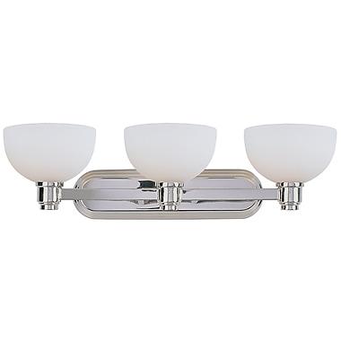 Darby Home Co Fielding 3-Light Vanity Light; Chrome