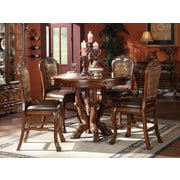 Astoria Grand Welliver Traditional Counter Height Upholstered Dining Chair (Set of 2)