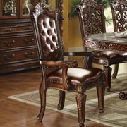 Astoria Grand Welles Traditional Upholstered Dining Chair (Set of 2)