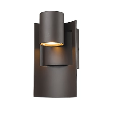 Z-Lite Amador Outdoor Wall Light, Bronze, (559S-DBZ-LED)