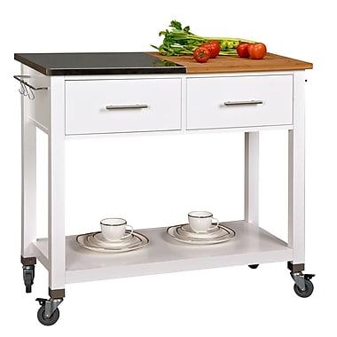 Corner Housewares - Îlot de cuisine coupez et préparez (CSC-550)