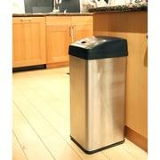 iTouchless – Poubelle 13 gallons, à capteur, rectangulaire (IT13MC)