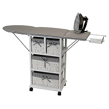 Corner Housewares - Table de repassage pliante portable (NX-904)
