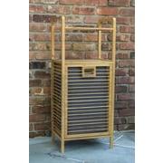 Corner Housewares Bamboo Hamper (TBH-002)