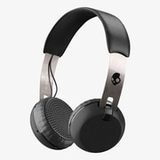 Skullcandy Grind On-Ear Sound Isolating Bluetooth Headphone, Silver, (S5GBW-J539)