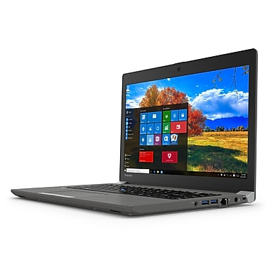 Toshiba - Portatif Tecra PT461C-02P019 14 po, Intel Core i5-6300U 2,3 GHz, DD 500 Go, DDR3L 8 Go, Windows 10 Pro