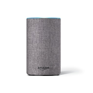 Amazon Echo (2nd generation) - Heather Gray Fabric