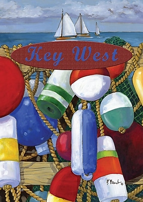 Toland Home Garden Floats and Boats-Key West Garden flag