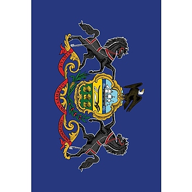 Toland Home Garden US States 2-Sided Garden flag; Pennsylvania