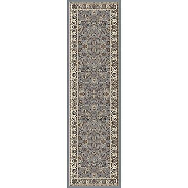Astoria Grand Weiser Traditional Blue Area Rug; Runner 2'2'' x 7'7''