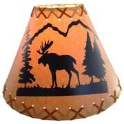 Loon Peak Moose 14'' Paper Empire Lamp Shade