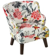 Harriet Bee Bachman Modern Candid Moment Ebony Kids Chair