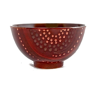 Red Vanilla Organic Brown 96 oz. Coupe Salad Bowl (Set of 2)