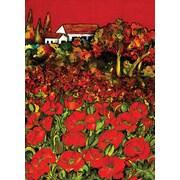 Toland Home Garden Red Poppies 2-Sided Garden flag