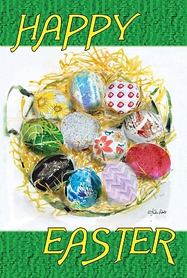 Toland Home Garden Happy Easter Nest Garden Flag