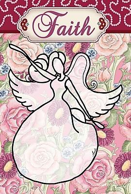 Toland Home Garden Faith Angel Garden Flag