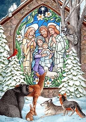 Toland Home Garden Winter Nativity Garden Flag