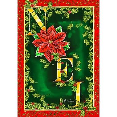 Toland Home Garden Noel 2-Sided Garden Flag