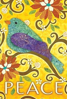 Toland Home Garden Bird of Peace 2-Sided Garden Flag