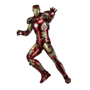 NECA Avengers: Age of Ultron 1/4 Scale Action Figure Iron Man Mark 43 with LED Lights