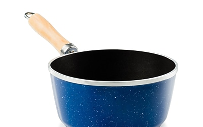 GSIOutdoors Pioneer 2.5 qt. Stainless Steel Sauce Pan; Blue WYF078282131557