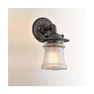 17 Stories Nikky 1-Light Outdoor Sconce; Small