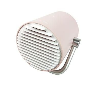 Smart Frog – Mini ventilateur USB portable, Cool Engine MF100P, à deux vitesses, rose