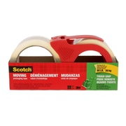 3M Scotch Moving Tape, 48 mm x 50 m, 2/Pack (3500-2-1RDESF)
