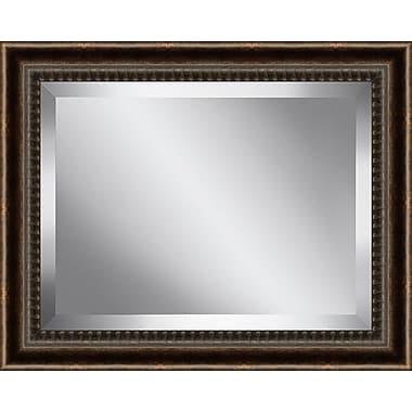 Astoria Grand Framed Beveled Plate Glass Mirror; 31'' H x 37'' W x 1.25'' D