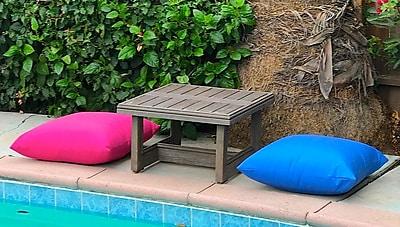 Brayden Studio Yandell Teak Outdoor 3 Piece Conversation Set w/ Sunbrella Cushions